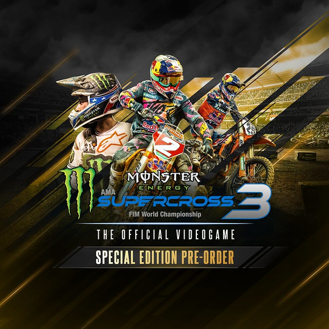 Thumbnail of Monster Energy Supercross 3 - Special Edition Pre-order on PS4