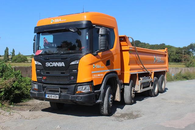 Scania G500 - B&A Group