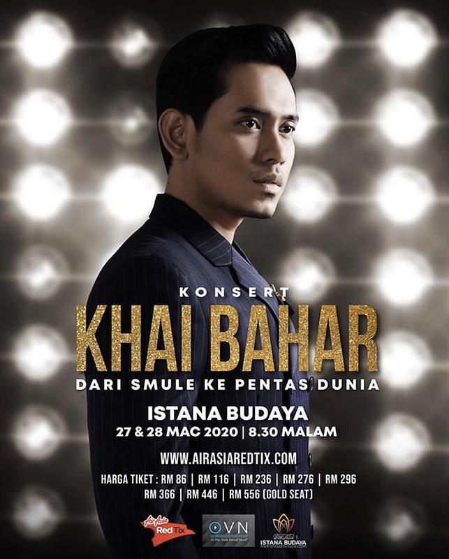 Konsert Khai Bahar Istana Budaya