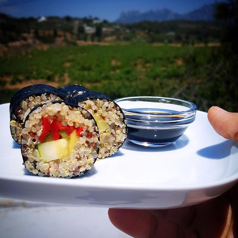 makis de quinoa recetas sin horizontes