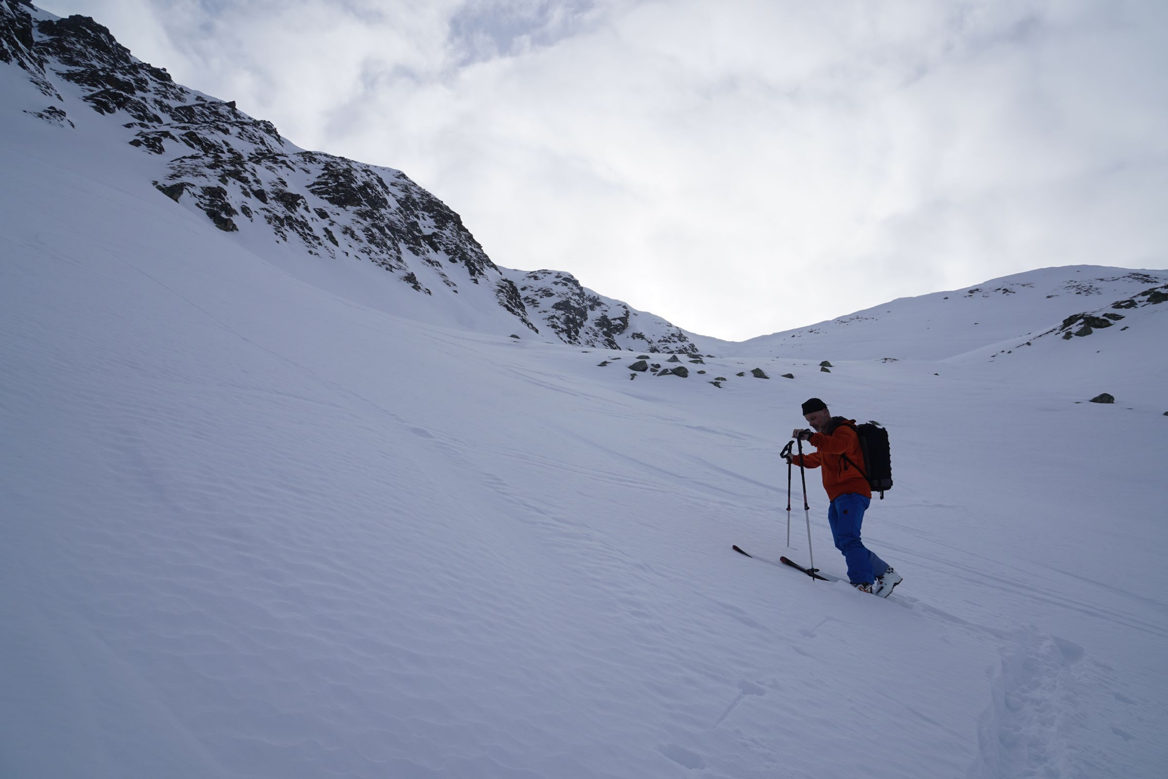 Skitour Geissweidengrat Pt. 2684m 25.01.2020