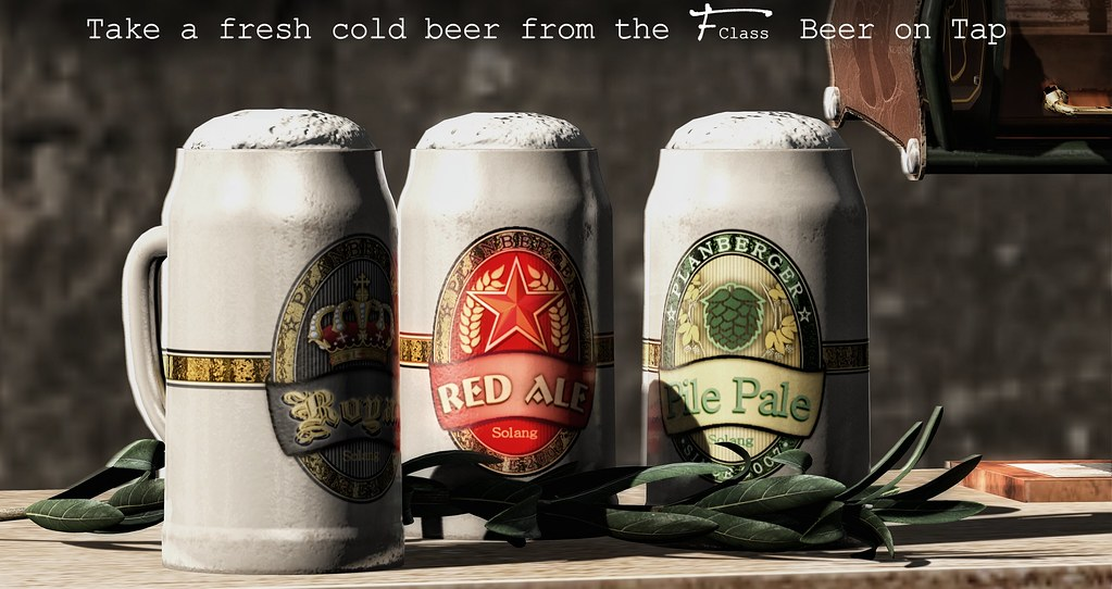 F-Class Beer tap