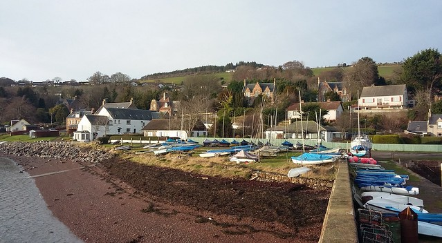 Fortrose Harbour, Fortrose, Black Isle, Jan 2020