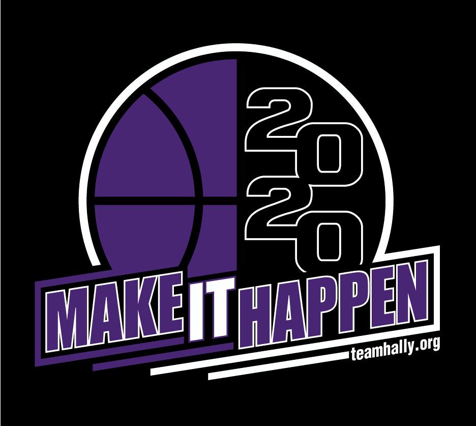 Team Hally Basketball Game 2020