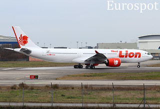 F-WWKM Airbus A330 Neo Thai Lion