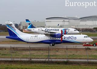 F-WWEG ATR72 Indigo