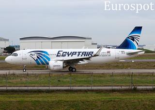 F-WWBI Airbus A320 Neo Egyptair