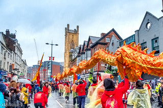 Dragon Parade Berry Street