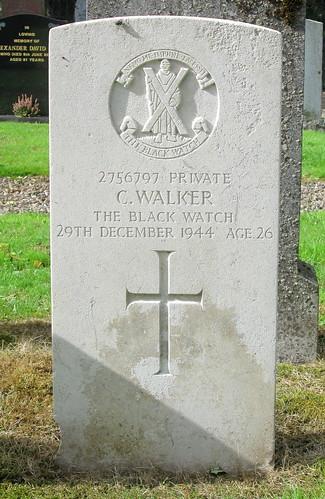Forteviot War Grave