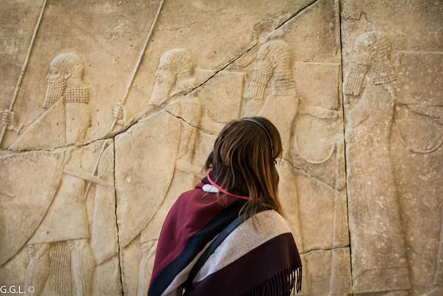 Pergamonmuseum. Berlin. Assyrische Funde.