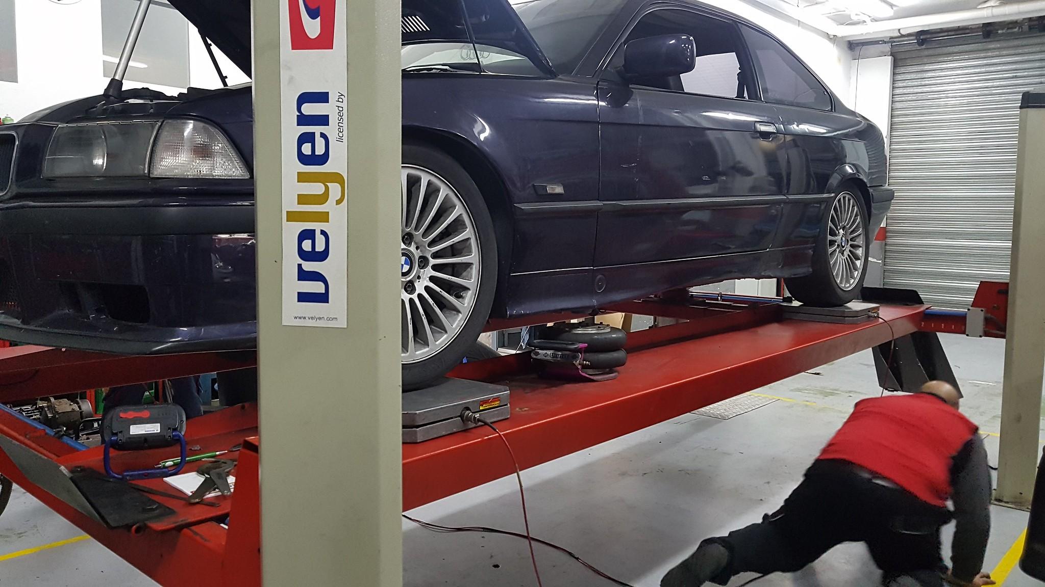 Corner balance BMW e36 328i