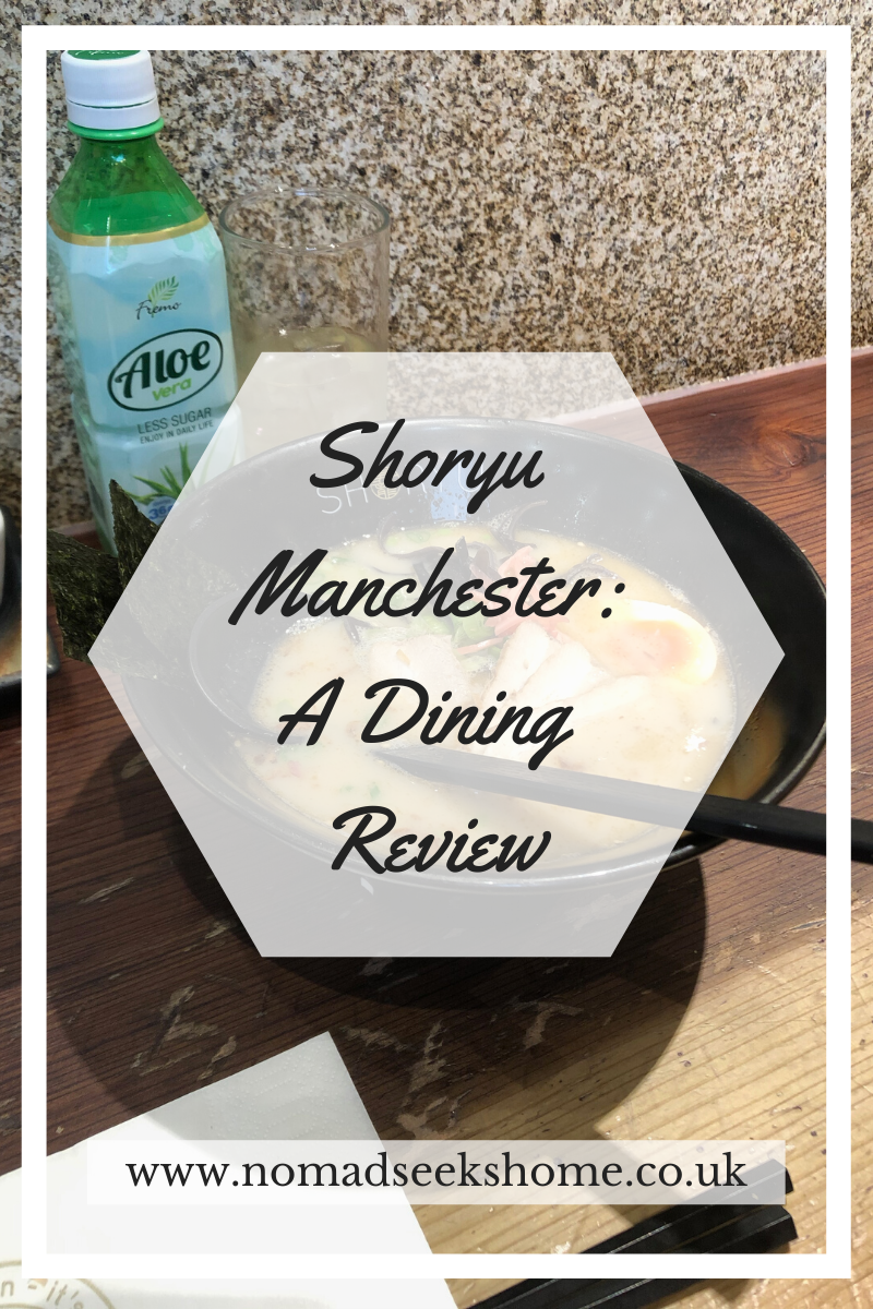 Shoryu Manchester: A Dining Review