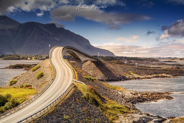 Storseisundet Bridge - Atlantic Ocean Road (Norway)