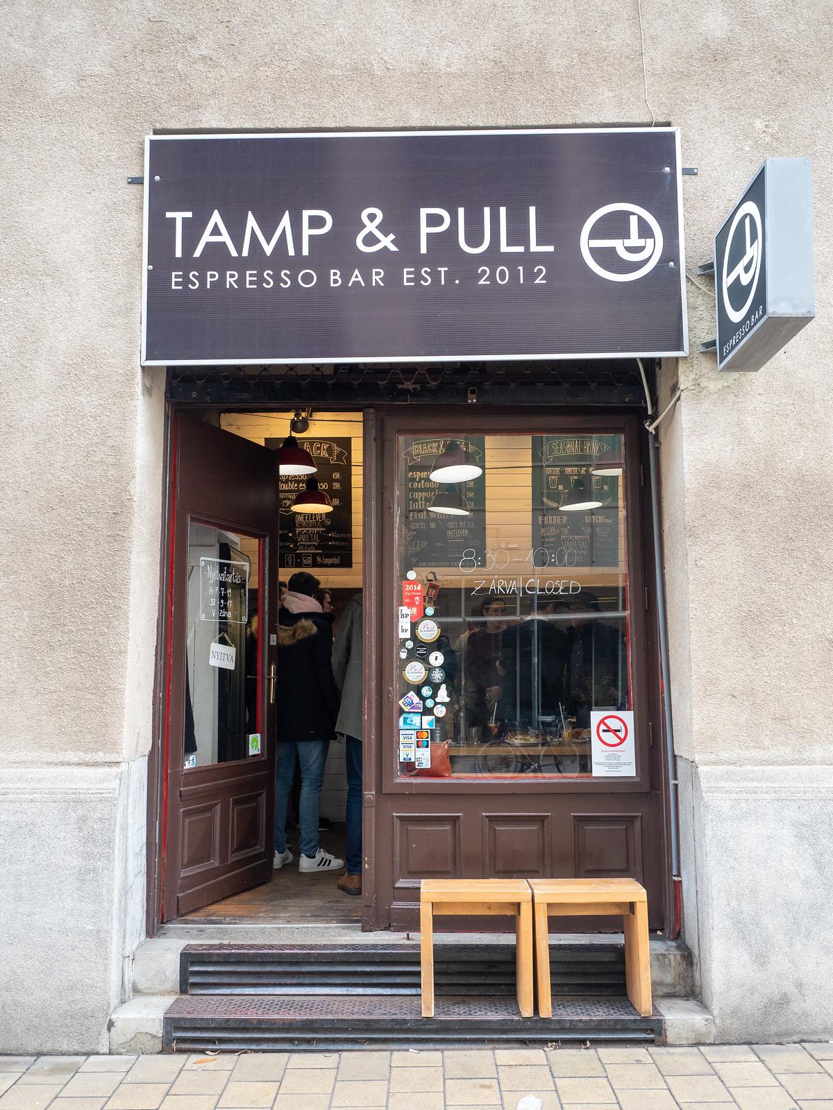 Tamp & Pull Budapest