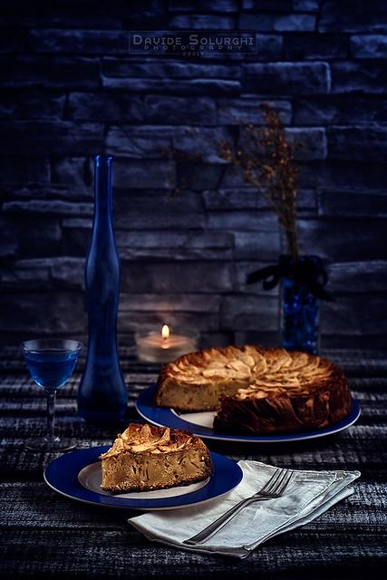 Today, rustic apple pie!