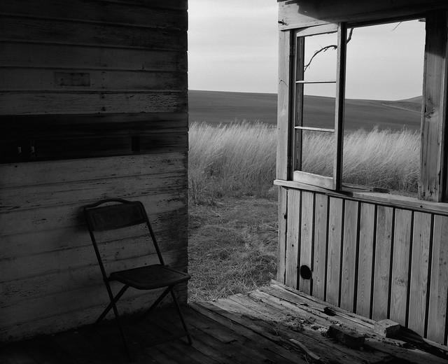 Porch, Abandoned Farmhouse, Eastern Washington