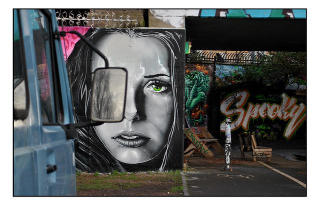 LONDON STREET ART by RICO.