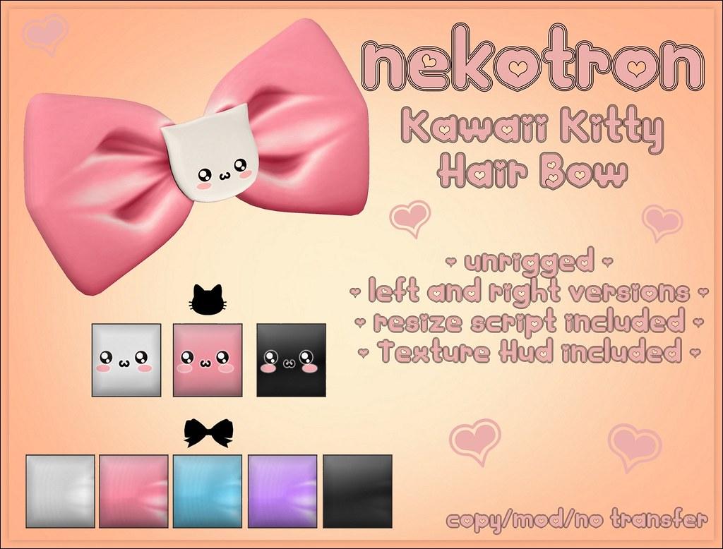 [Nekotron] Kitty Hairbow