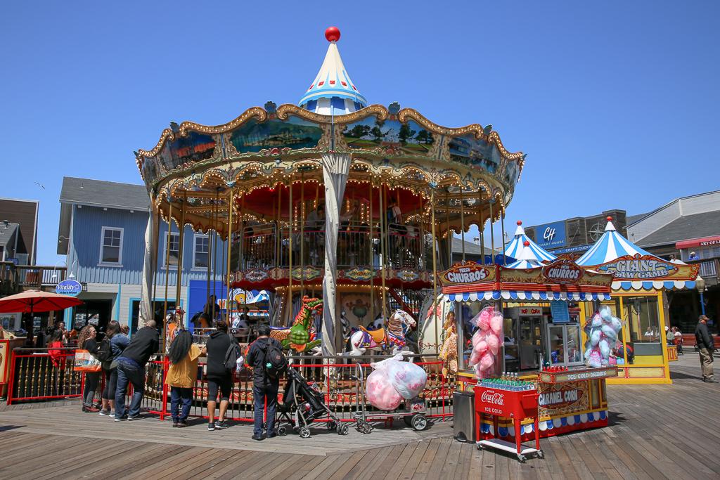 Pier39carousel