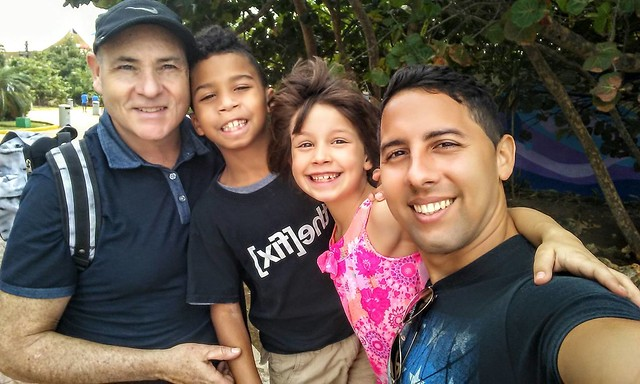George Smitherman 10 Author Politician MPP Ontario Cabinet Minister Deputy Premiere gay with family