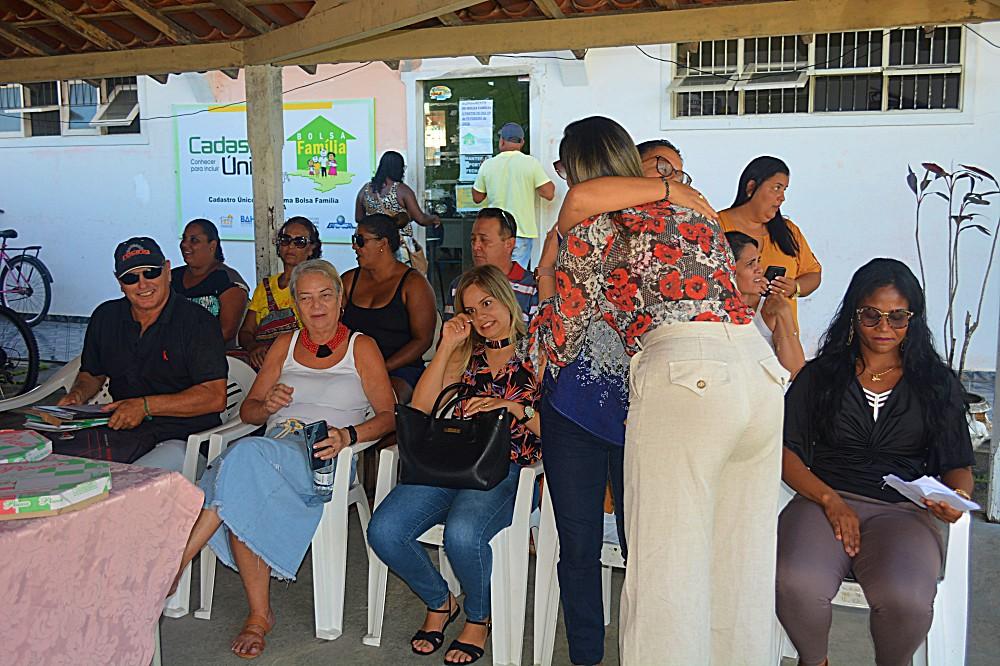 Recepção da nova secretária de desenvolvimento social do Prado (2)