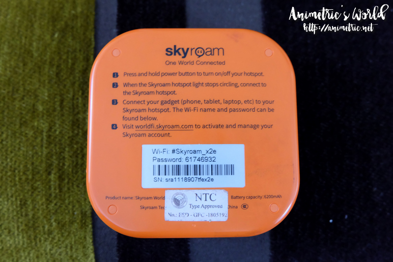 Klook Skyroam