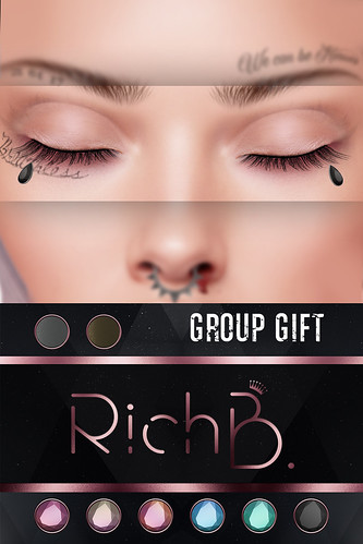 RichB. Teardrops Group Gift ♥