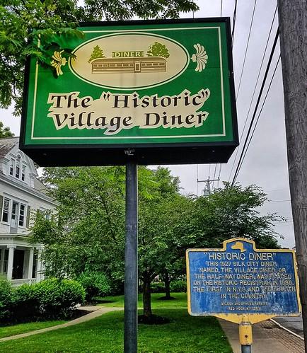 newyork dutchesscounty redhook diner us9 nationalregister nationalregisterofhistoricplaces sign