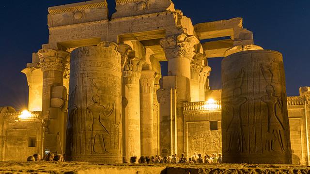 Temple of Kom Ombo. Upper Egypt