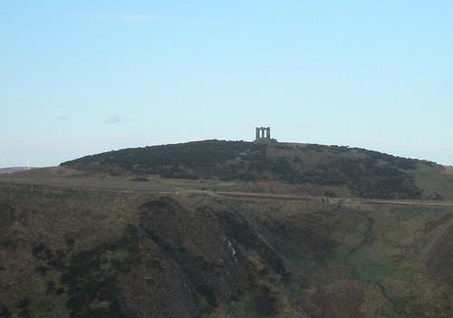 War Memorial from Dunnottar Castle Castle