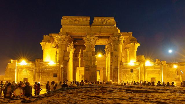 Kom Ombo Temple. Egypt.