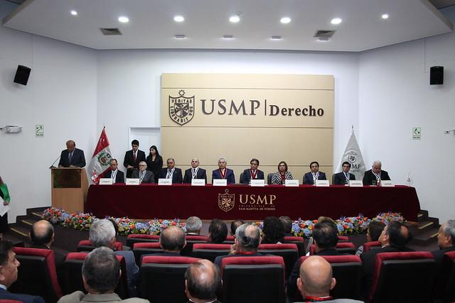 Universidad de San Martín de Porres promovió a Docentes Ordinarios a las Categorías de Profesor Ordinario Asociado y Profesor Ordinario Principal