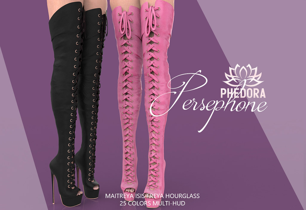 """Phedora for Uber ~ """"Persephone"""" boots ♥"""