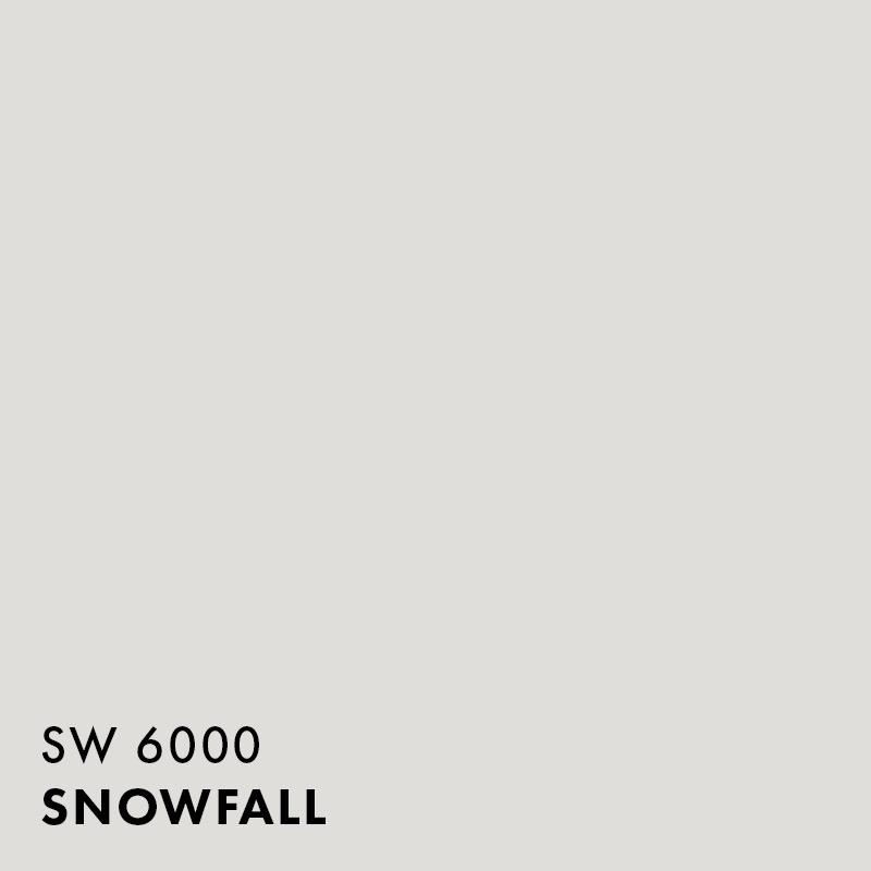 Sherwin-Williams - Snowfall / Satin