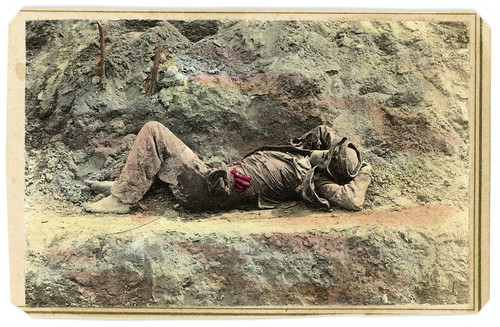 A Dead Confederate from Gen. Strong's Album