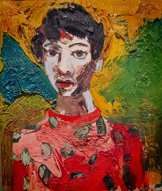 'Portrait of Lupe' by Joan Brown