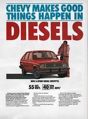 1982 Chevrolet Chevette Diesel