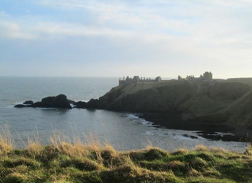 Dunnottar Castle view