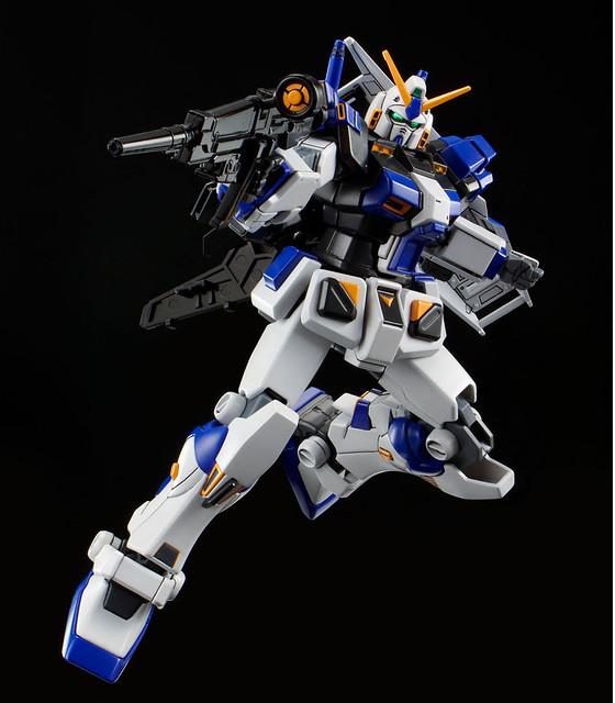 遊走於宇宙閃光盡頭的蒼藍鋼彈!HG 1/144 鋼彈 4 號機(HG 1/144 ガンダム4号機)