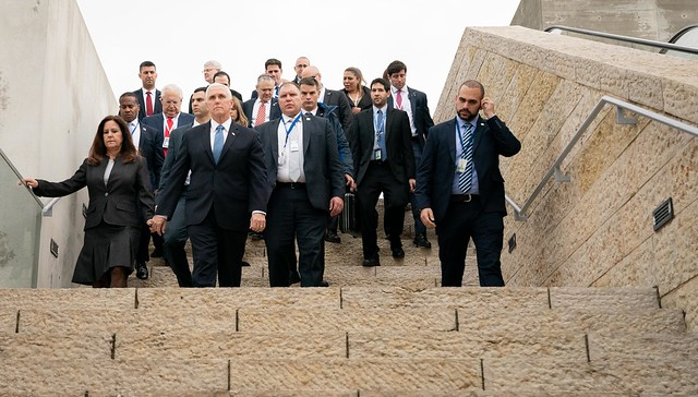 Vice President Pence at Yad Vashem