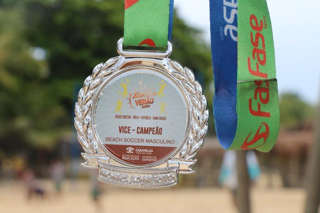 Medalhas dos finalistas dos Jogos de Verão 2020 de Caravelas (2)