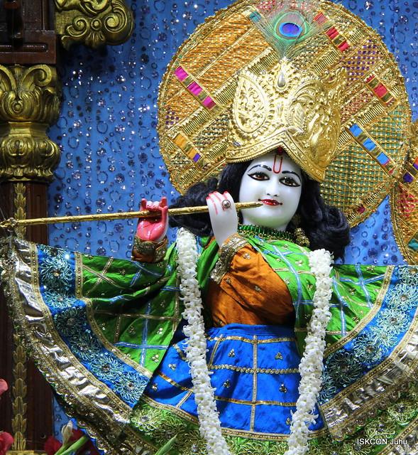 ISKCON Juhu Mangal Deity Darshan on 28th Jan 2020
