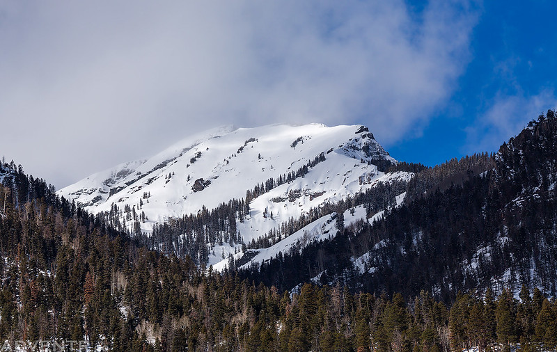 Snow-Covered Peak