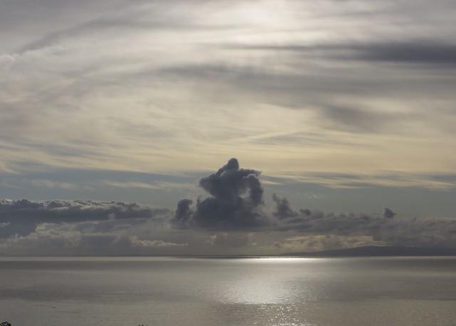 clouds over Palos Verdes