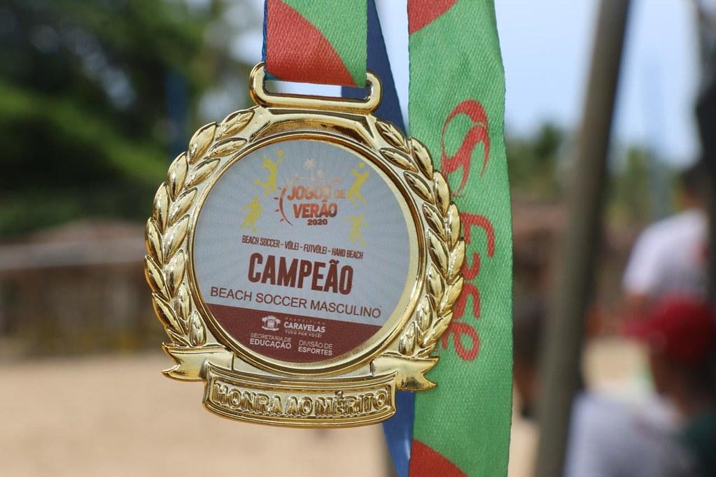 Medalhas dos finalistas dos Jogos de Verão 2020 de Caravelas (1)