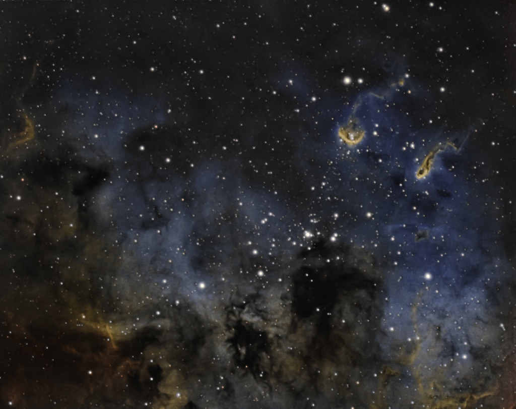 IC410_The Tadpoles Nebula