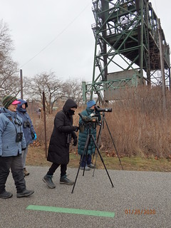 January 2020 Field Trip Birders. Photo by Penny O'Connor