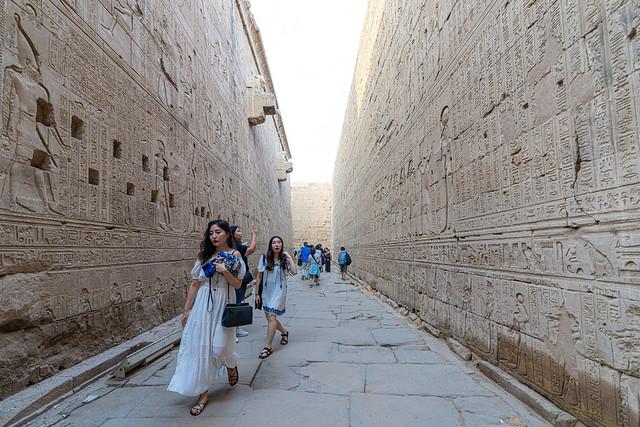 Temple d'Horus a Edfou