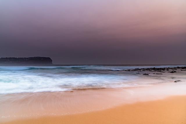Hazy Summer Seascape