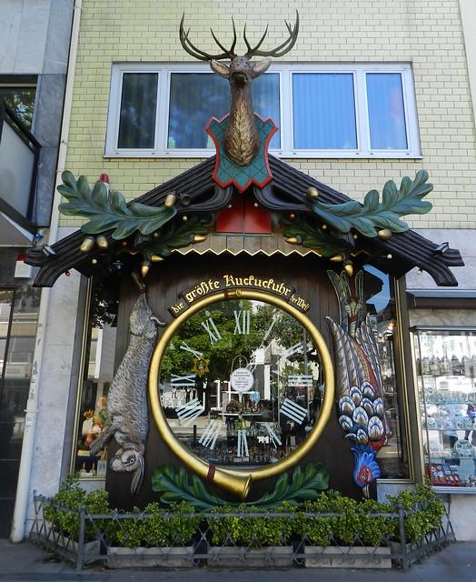 Reloj de cuco mas grande del mundo Wiesbaden Alemania